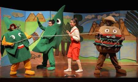 sebzeler ülkesi tiyatro etkinlikleri