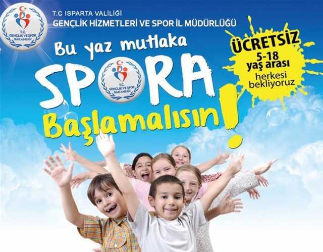 Isparta Yaz okulları 2017