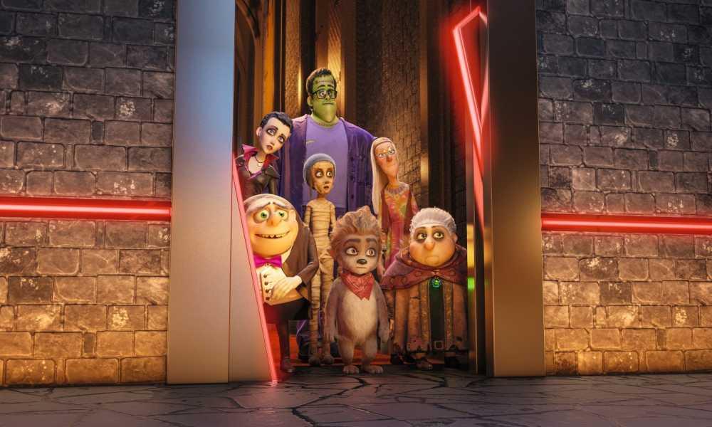 mutlu canavarlar ailesi