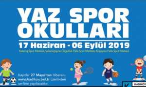 Kadıköy Belediyesi Yaz Spor Okulu 2019