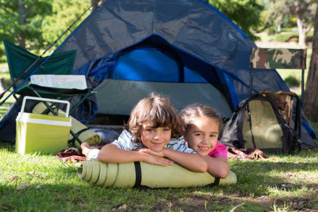 Çocukla Kamp