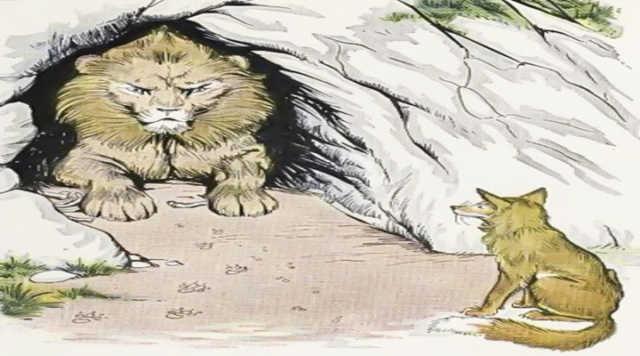 Aslan ile Tilki