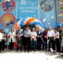 Antalya Büyükşehir Belediyesi Kitap ve Oyuncak Kütüphanesi